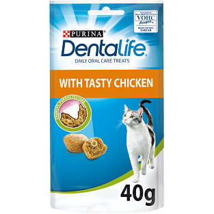 Dentalife Chicken Cat Treats 40g