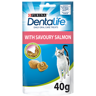 Dentalife Salmon Cat Treats 40g