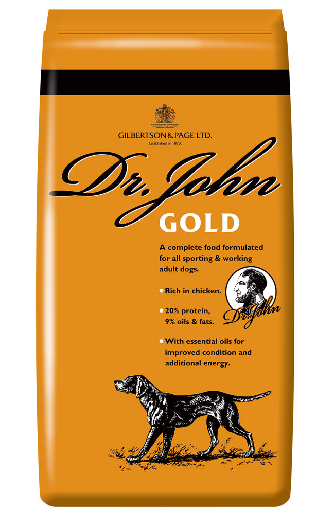 Dr John Gold Dry Dog Food - 4kg