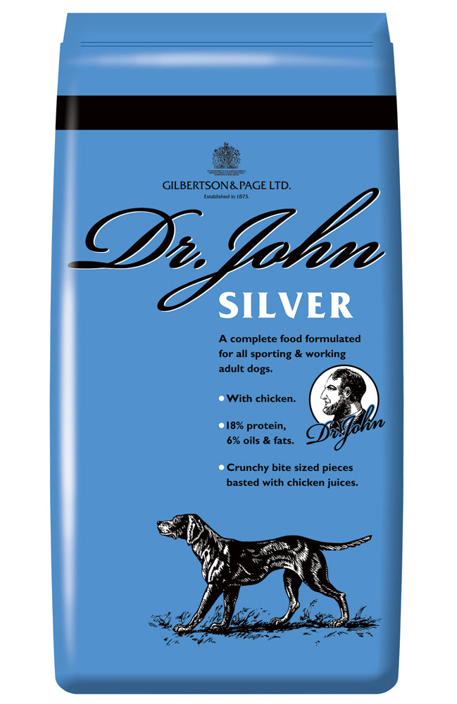 Dr John Silver Dry Dog Food with Chicken - 4kg