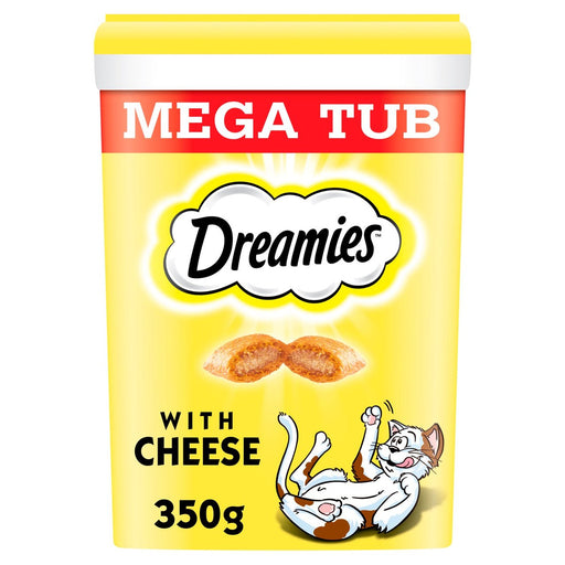 Dreamies Mega Pack Adult Cheese Cat Treat 350g