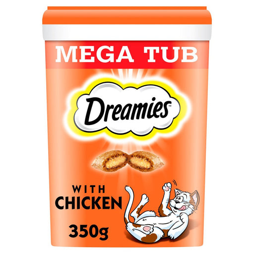 Dreamies Mega Pack Adult Chicken Cat Treat 350g