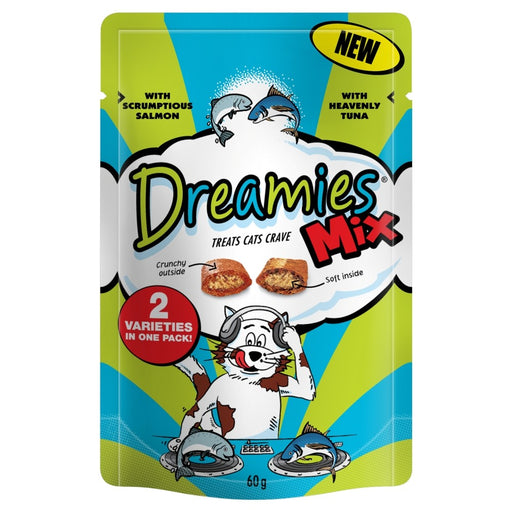 Dreamies Salmon & Tuna Mix - 60g