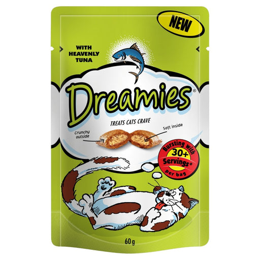 Dreamies Tuna Cat Treats 60g