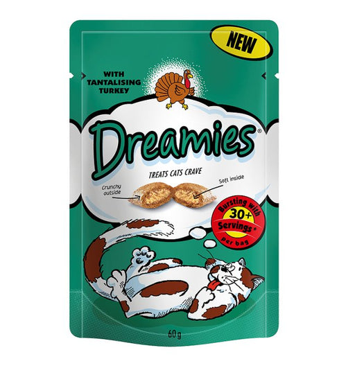 Dreamies Turkey Cat Treats 60g