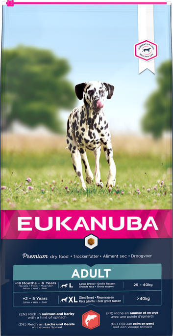 Eukanuba Adult Salmon & Rice Dry Dog Food 12kg