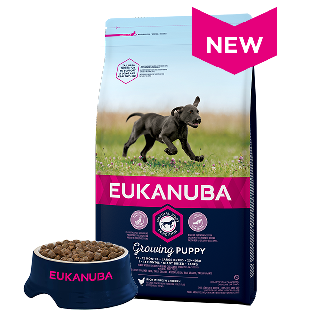 Eukanuba Growing Puppy Large Breed Dry Dog Food Chicken 12kg