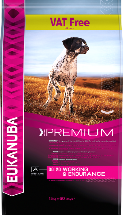 Eukanuba Performance Dry Food for Working Dogs - 15kg