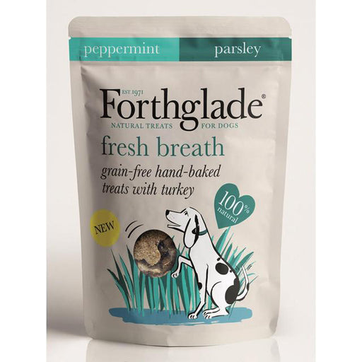 Forthglade Hand Baked Fresh Breath Treats for Dogs - 150g