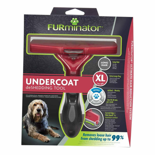 Furminator Deshedding Tool for Giant Dogs With Long Hair