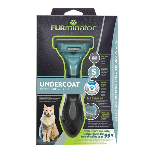 Furminator Deshedding Tool for Small Cats With Long Hair