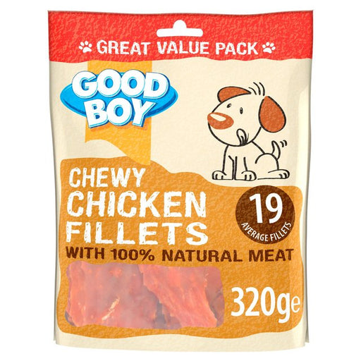 Good Boy Chewy Chicken Fillets Dog Treats 320g