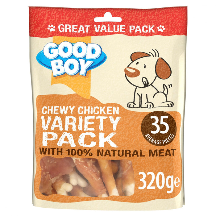Good Boy Variety Pack Chicken Dog Treats 320g