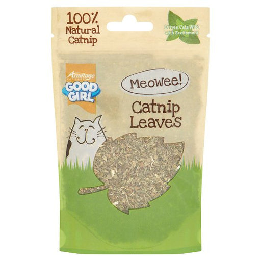 Good Girl Catnip Leaves Cat Treats - 25G