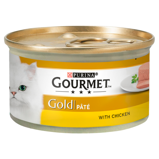 Gourmet Gold Chicken Pate Cat Food 12x85g