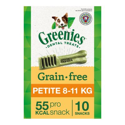 Greenies Petite Grain Free Dental Treat For Small Dogs (8-11kg) - 170g