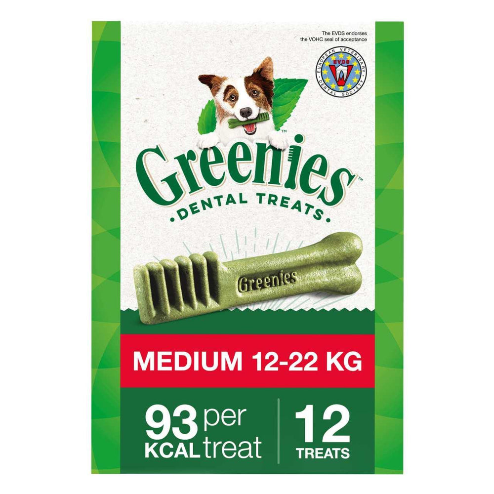 Greenies Regular Dental Treat For Medium Dogs (11-22kg) 340g