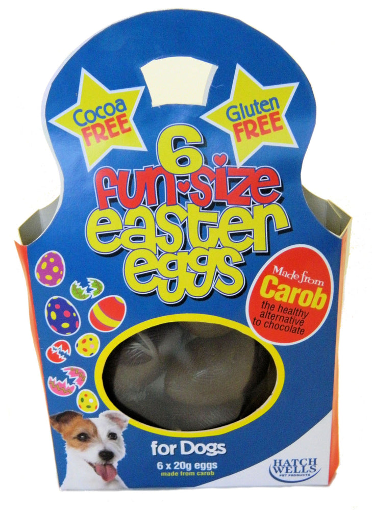 Hatchwell Fun Size Easter Eggs For Dogs - 6 x 20g