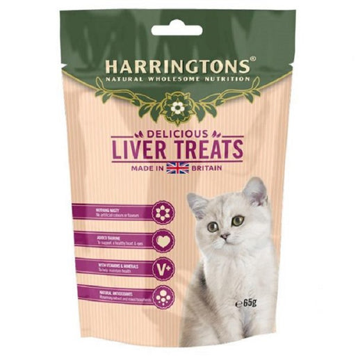 Harringtons Cat Treats with Liver  65g