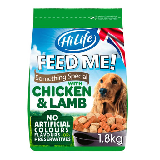 HiLife Feed Me! Something Special Chicken & Lamb Semi Moist Dog Food - 1.8kg