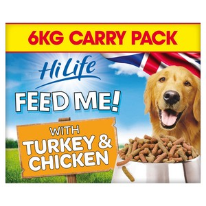 HiLife Complete Moist Mince with Turkey & Chicken Dog Food - 6kg