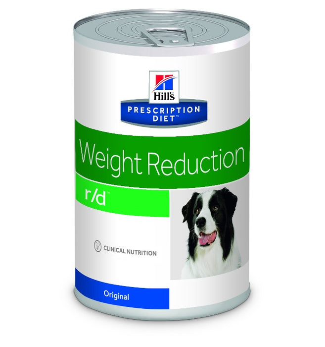 Hill's Prescription Diet R/D Weight Mangement Dog Food Cans - 12 x 350g