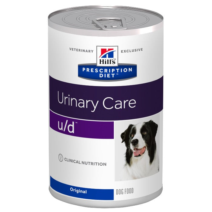 Hill's Prescription Diet U/D Urinary Care Dog Food Cans - 12 x 370g