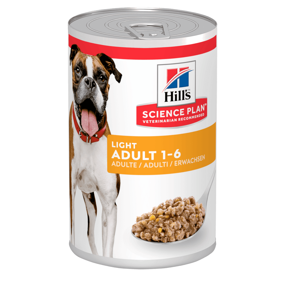 Hill's Science Plan Canine Adult Turkey Wet Dog Food Cans - 12 x 370g