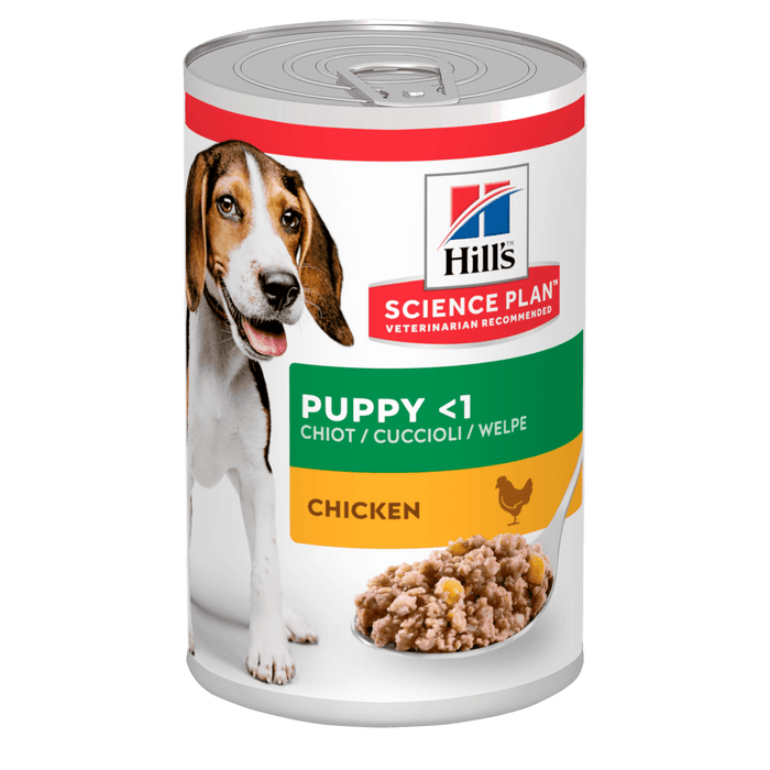 Hill's Science Plan Chicken Puppy Wet Food - 12 x 370g