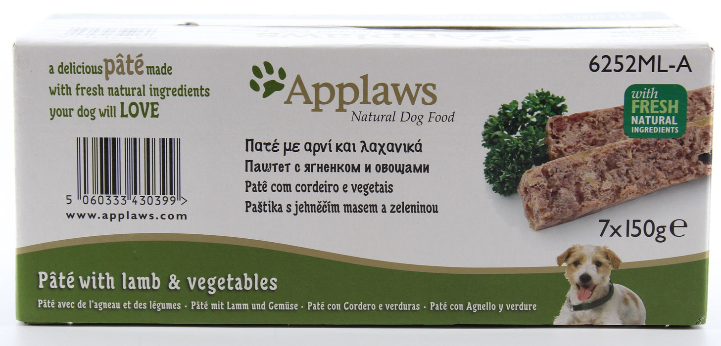 Applaws Pate With Lamb and Vegetables Dog Food  7 x 150g