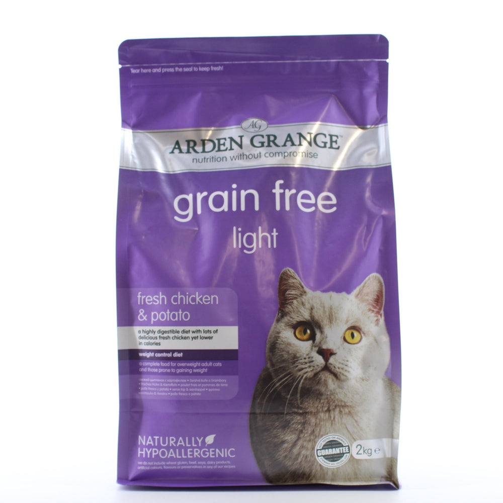 Arden Grange Light Fresh Chicken with Potato Adult Cat Dry Food 2kg
