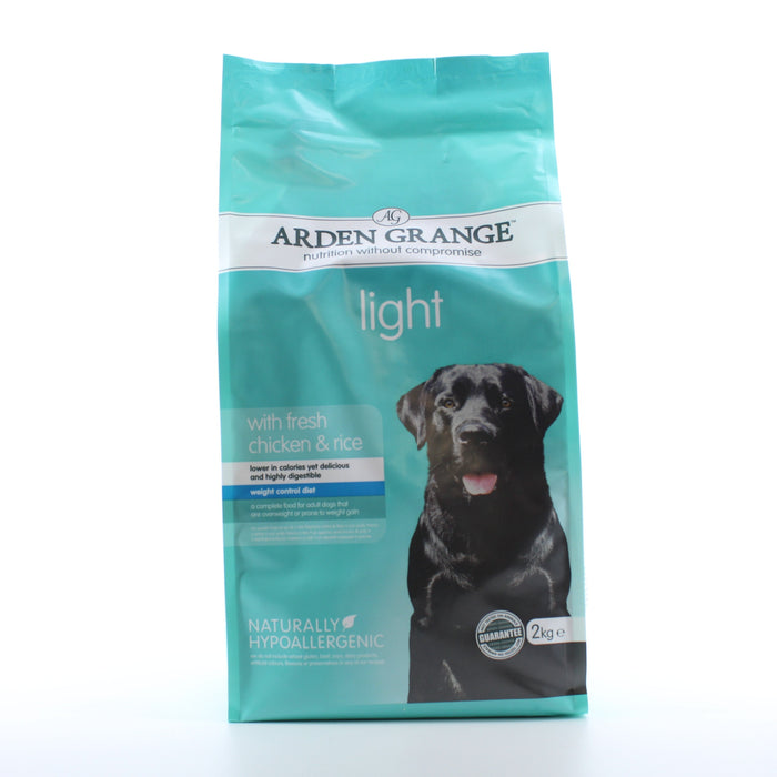 Arden Grange Light Chicken with Rice Adult Dry Dog Food 2kg