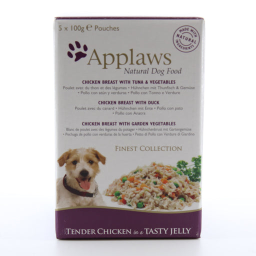 Applaws Dog Pouch Finest Collection Multipack 5 x 100g