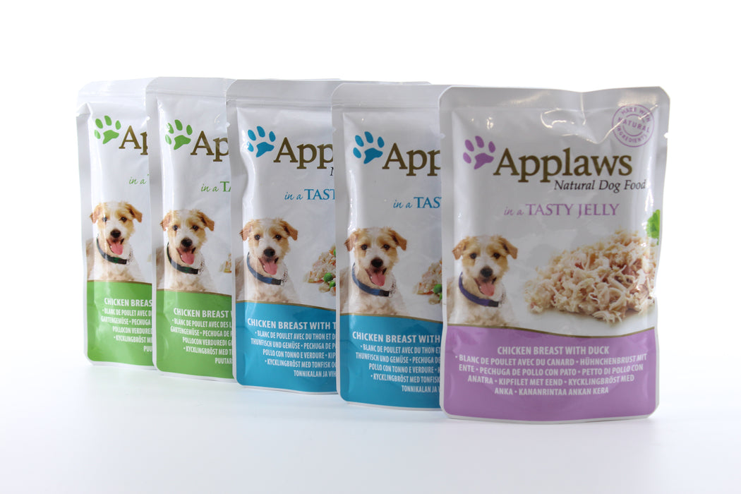 Applaws Dog Pouch Finest Collection Multipack 5 x 100g - 1
