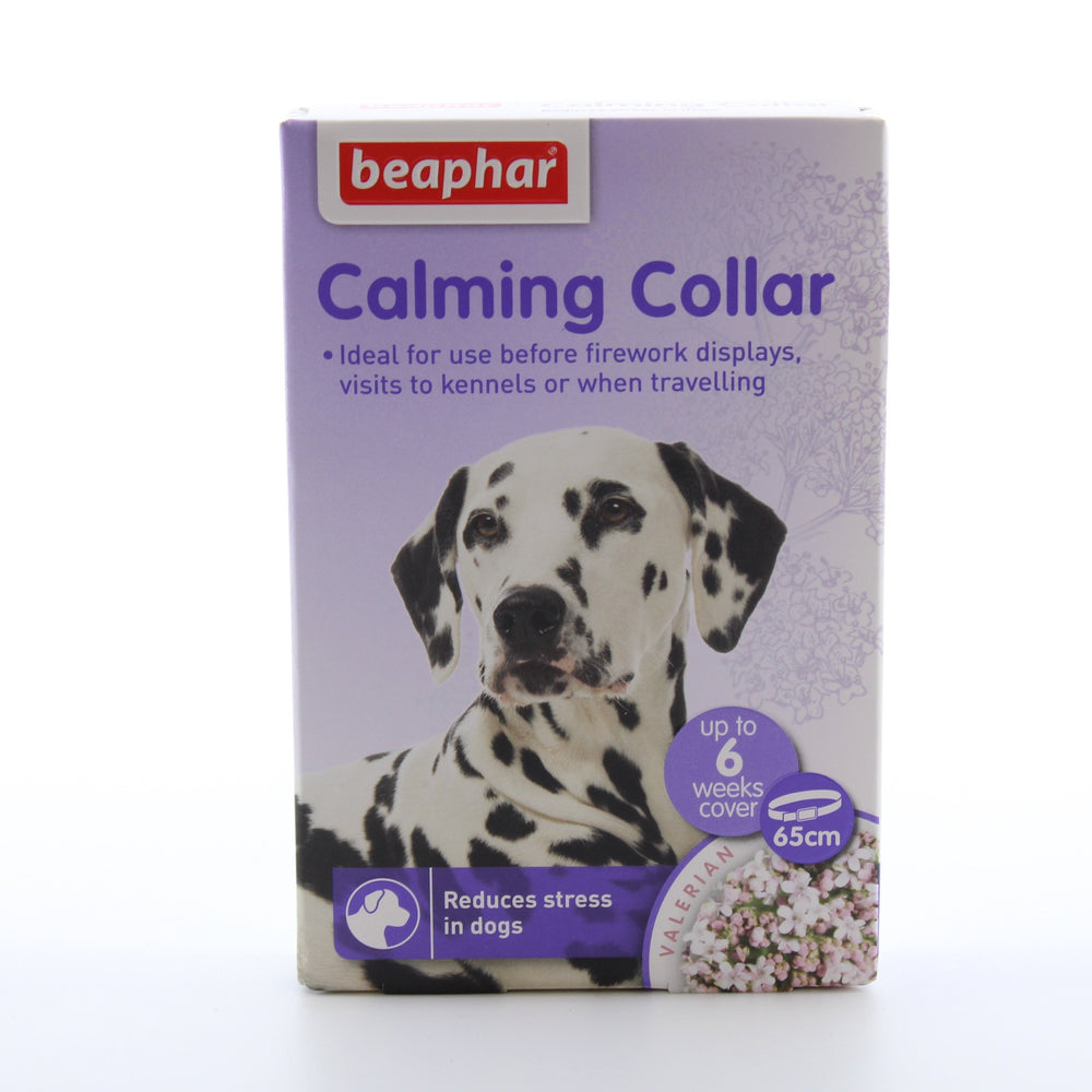 Beaphar Calming Collar For Dogs Valerian 65cm