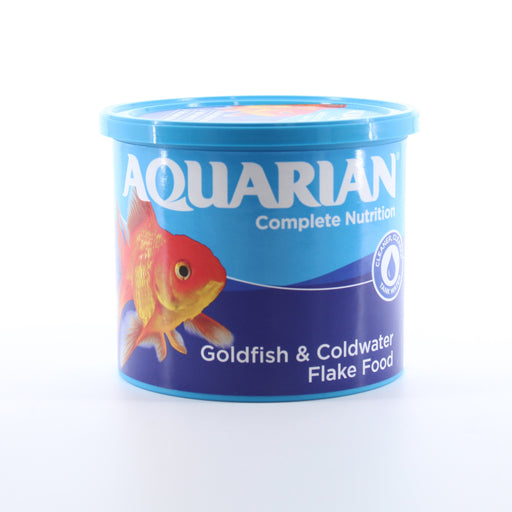 Aquarian Complete Nutrition Goldfish and Coldwater Flake Food 200g