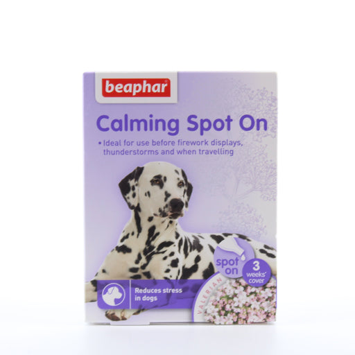 Beaphar Calming Spot On For Dogs 3 Vials SNG