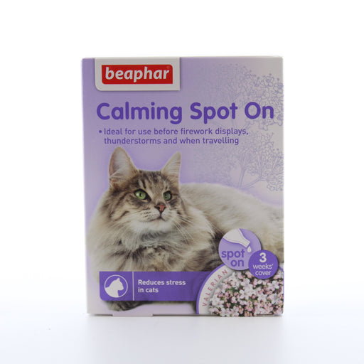 Beaphar Calming Spot On For Cats 3 Vials
