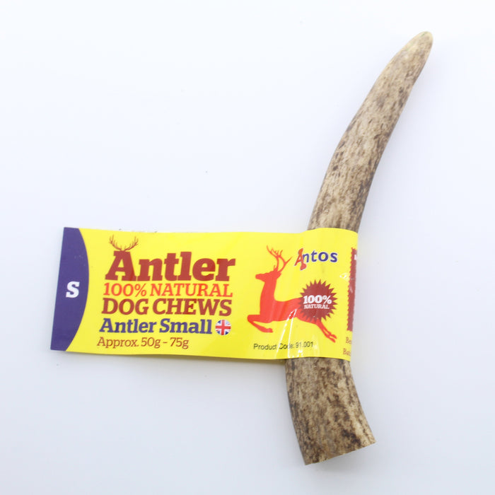 Antos Antler Natural Dog Chew Small 50 - 75g