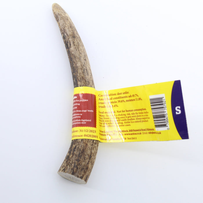 Antos Antler Natural Dog Chew Small 50 - 75g - 1