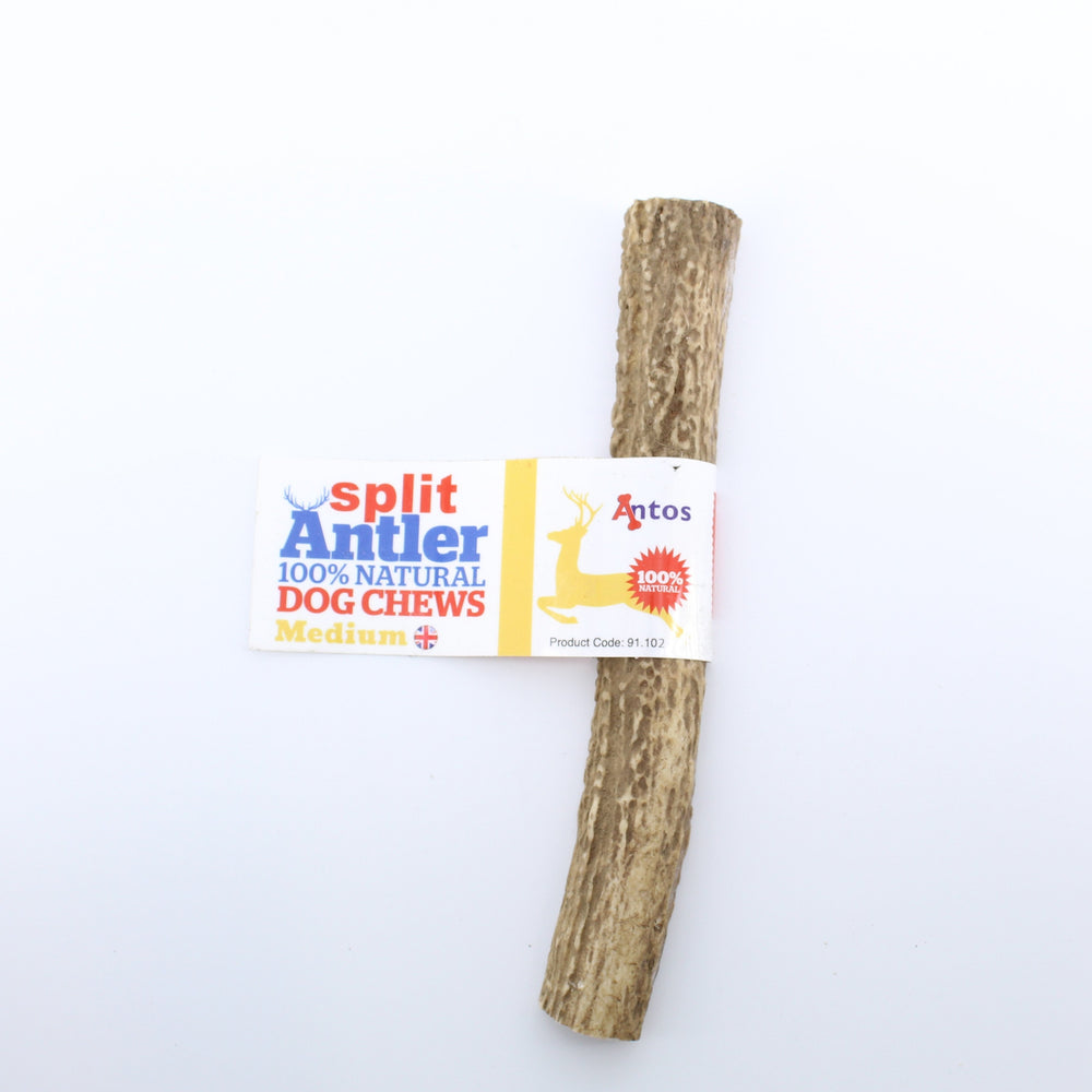 Antos Antler Split Natural Dog Chew Medium 50g