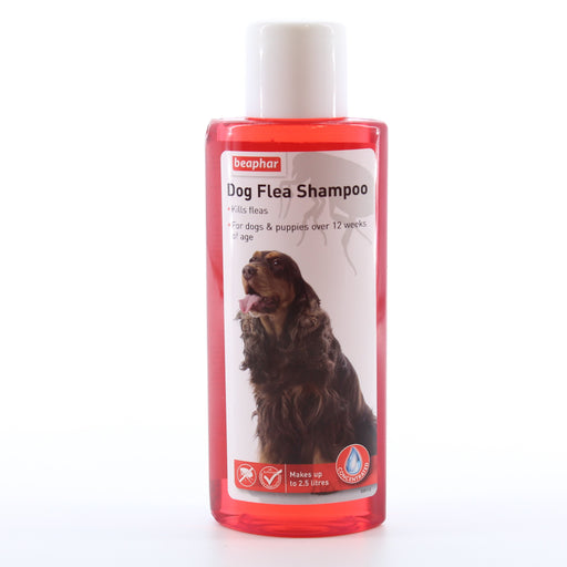 Beaphar Dog Flea Shampoo 250ml for Dogs and Puppies over 12 weeks of age