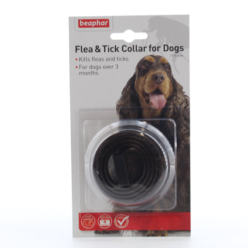 Beaphar Dog Flea and Tick Collar for Dogs 60cm