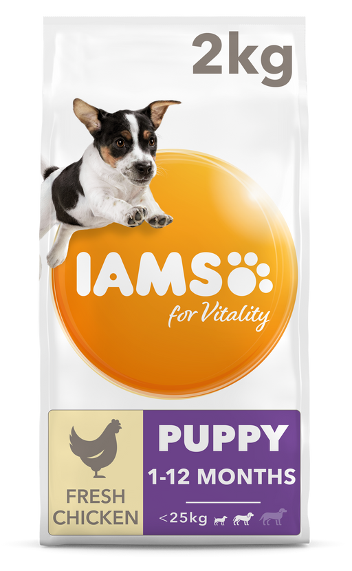 Iams Vitality Puppy Small/Med Breed Chicken 2kg