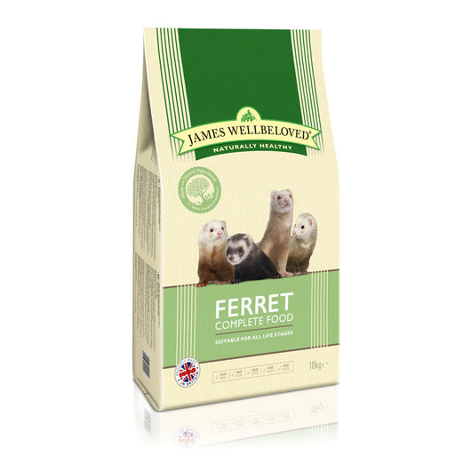 James Wellbeloved Ferret Complete Food - 10kg