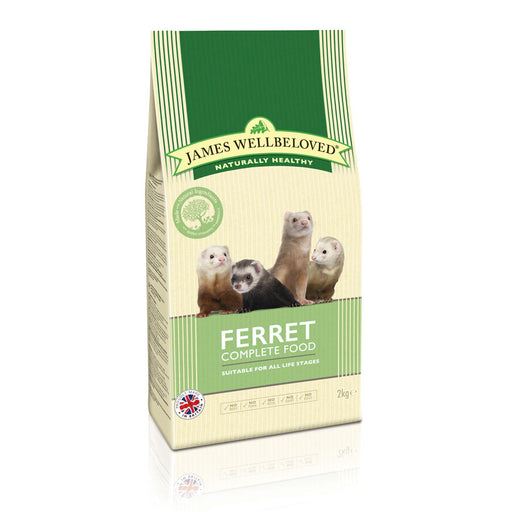 James Wellbeloved Ferret Complete Food - 2kg