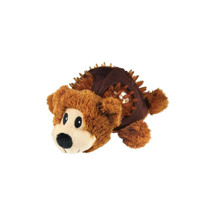 KONG Shells Bear Dog Toy Small