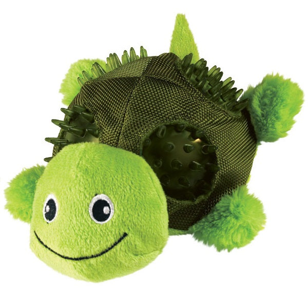 KONG Shells Turtle Dog Toy Small