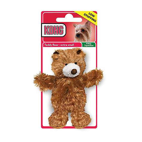 KONG Plush Teddy Bear Extra Small