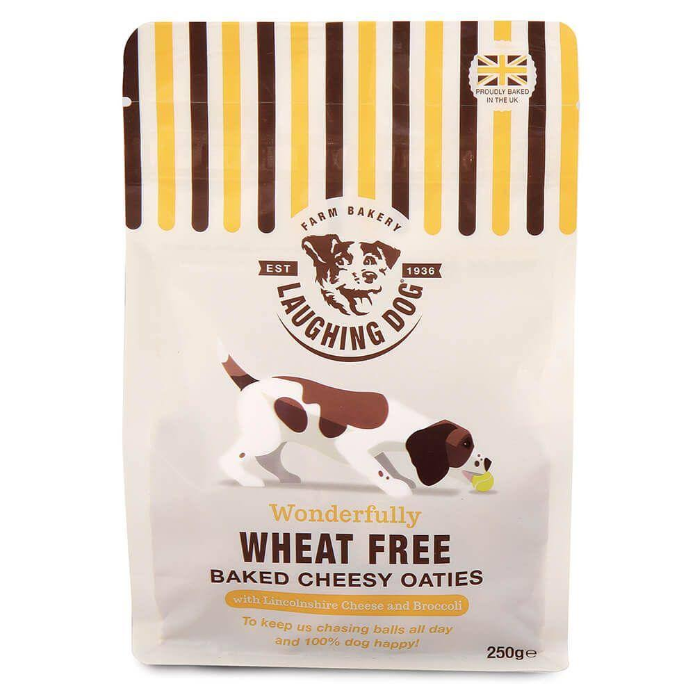 Laughing Dog Cheesy Oaties Dog Treats - 250g